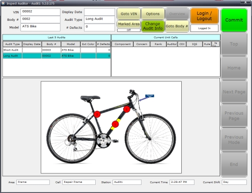 Auditor screenshot
