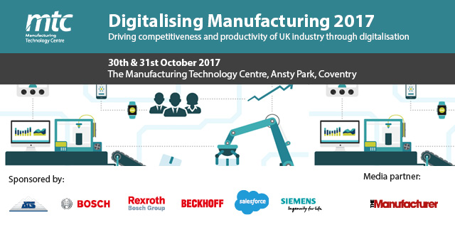 Digitalising Manufacturing Conference