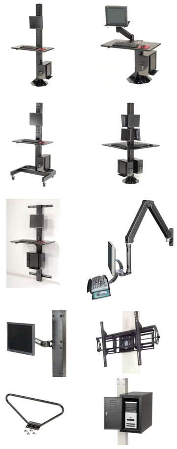 ATS Industrial Computer Furniture