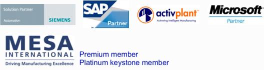 Siemens, SAP, Activplant, Microsoft, MESA