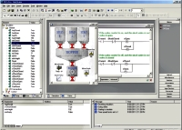 Simulation of a Water Treatment Plant